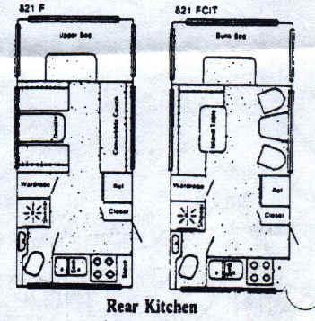 american clipper floorplans